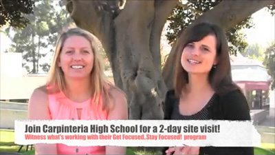 Erin Hansen and Amy Gil discuss CHS 2-Day Site Visit Details
