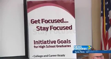 SBCC Educating Others On 'Get Focused...Stay Focused' Program  News - KEYT